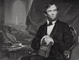 Abraham Lincoln 1809–65. 16Th President Of The United States 1861–65. From Painting By Alonzo Chappel.