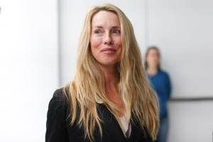 Laurene Powell Jobs, widow of late Apple founder and CEO Steve Jobs, at an event in San Francisco.