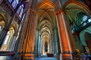 Europe, France, Marne (51), Notre-Dame de Reims, Listed as World Heritage Site by UNESCO - photographed: June 22, 2010