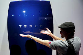 Tesla's Energy Powerwall Home Battery.