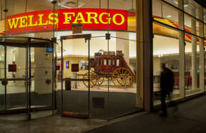 Wells Fargo branch in New York