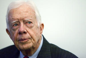 Former US President Jimmy Carter. Action Press/Rex Features