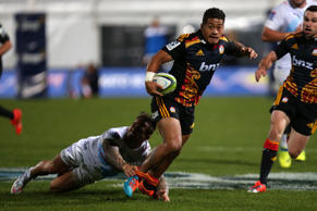 Livewire halfback Augustine Pulu bagged two decisive tries to carry the Chiefs to a 34-20 home win over the Bulls.