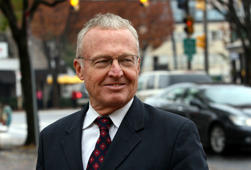 Attorney Robin Ficker in Bethesda, Maryland, in 2008.