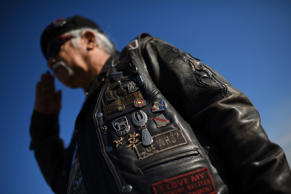 Vietnam War veteran Joe ÒDragonÓ Lozano. Win McNamee/Getty Images