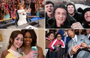 Celeb selfies of 2015