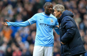 Manuel Pellegrini and Yaya Toure to stay at Man City
