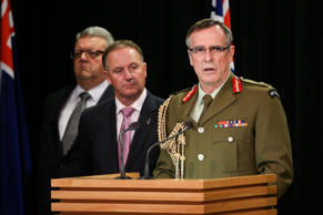 File Photo: Chief of Defence Force, Lieutenant General Tim Keating confirmed that up to 143 New Zealand Defence Force staff would be sent to combat IS.