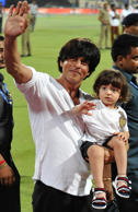 2015: Cute AbRam Khan in the spolight