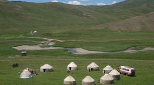 Yurt camping with Dragoman in Mongolia.