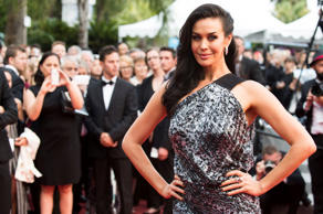 Megan Gale at the 68th international film festival, Cannes, southern France, Tuesday, May 19, 2015.