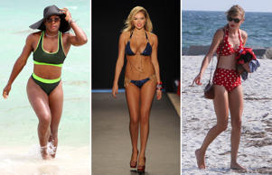 Fashion trend: Sizzling hot bikini colours