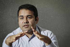 File: Kunal Bahl, chief executive officer of Snapdeal.com, gestures as he speaks during an interview in New Delhi, India