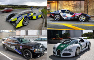 High-speed chase: The world's hottest police cars
