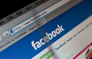 A Facebook Inc. logo is displayed at the top of the login page for facebook.com on a computer screen in Tiskilwa, Illinois, U.S., on Tuesday, Jan. 29, 2013.