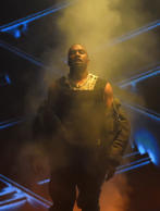 Kanye West performs during the 2015 Billboard Music Awards at MGM Grand Garden Arena on May 17, 2015 in Las Vegas, Nevada.