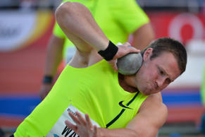 Shot putter Tom Walsh has finished fourth in the Prefontaine Classic in Oregon.
