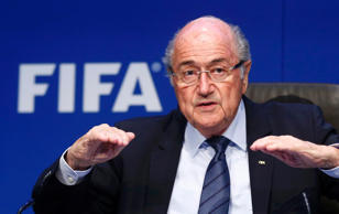 "Europe and South America had feared an attempt to cut their places, but FIFA president Blatter said: ""there is no change."""