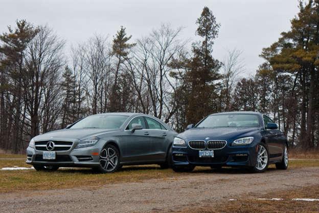 2013 Bmw 650i Gran Coupe Vs Mercedes Benz Cls 550 Comparison Test