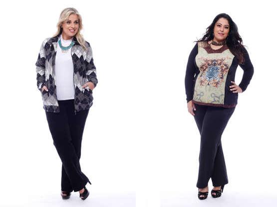 93cecf750 Mãe plus size  48 modelos de roupas para presenteá-la!