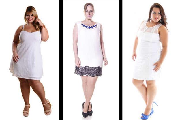 2fda64d66fe9 Dicas de roupas brancas plus size para as festas de fim de ano