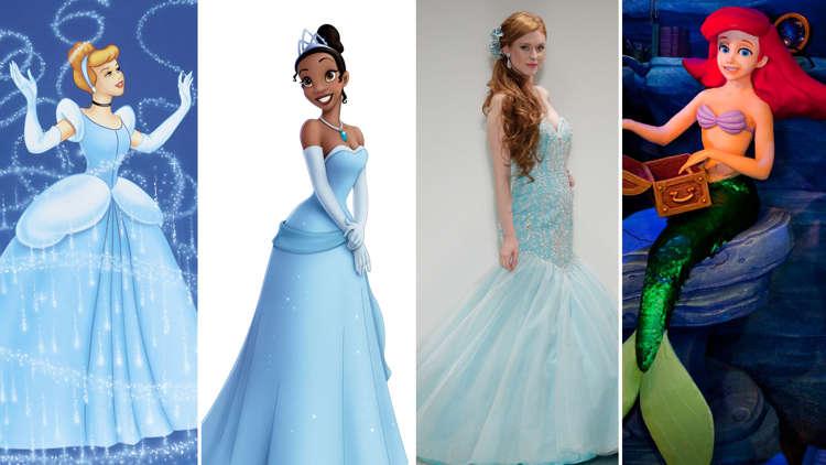 hot sale online fab2e 6ed3d I vestiti da sposa ispirati a quelli delle principesse Disney