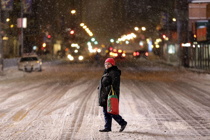 More than 35 million people along the Philadelphia-to-Boston corridor rushed to get home as a fearsome storm swirled in with the potential for hurricane-force winds
