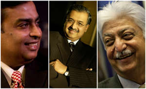30 richest Indians in the world