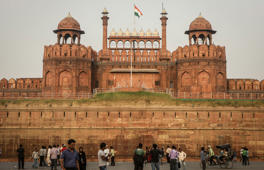 The Red Fort Complex, New Delhi, India.