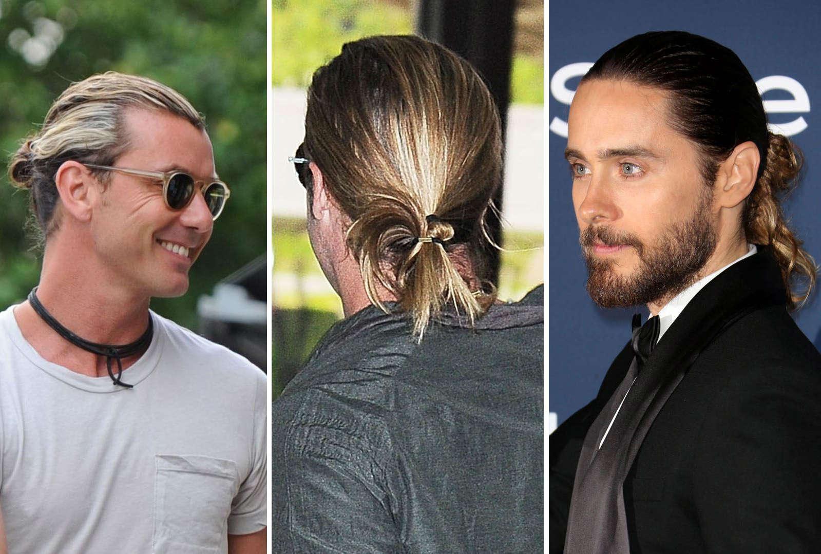 Männer mit Dutt - Feminine Frisuren erobern Hollywood