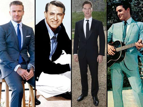 Männer 25 Stil Ikonen Von Damals Und Heute