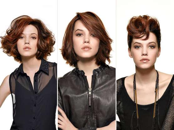 Ein Haarschnitt Viele Frisuren