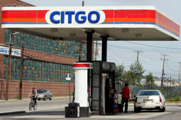 A Citgo gas station is pictured in Kearny, New Jersey September 24, 2014.