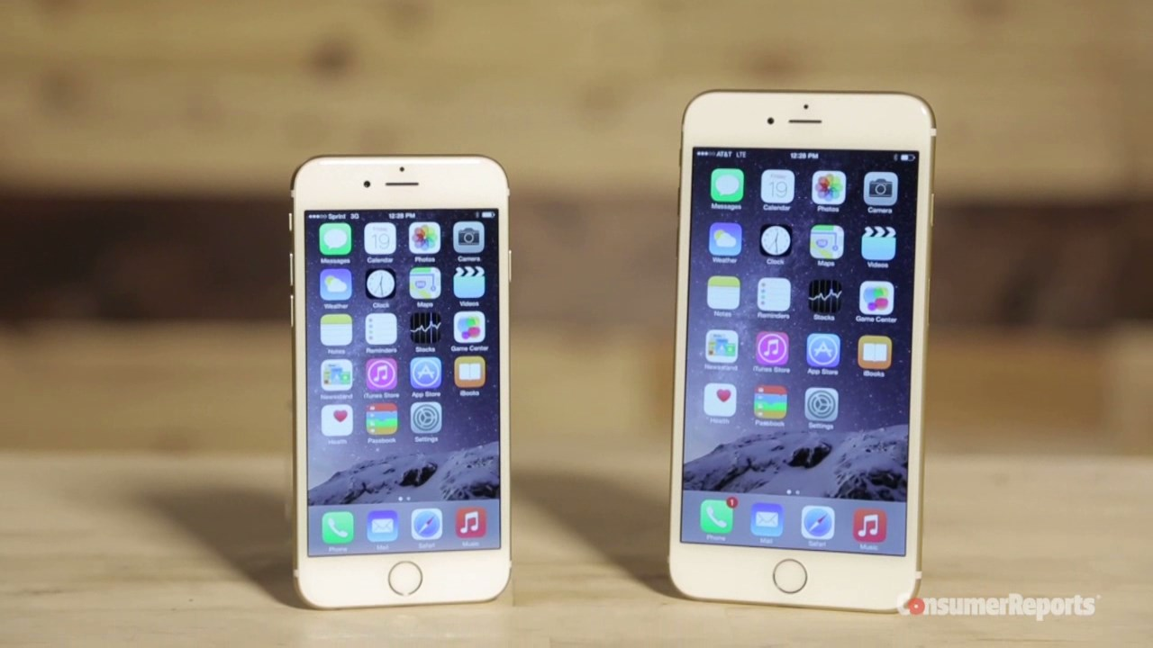 how big is the iphone 5s iphone 6 consumer reports early review 18432