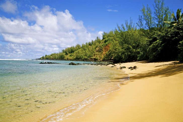 Pila'a beach, Kauai