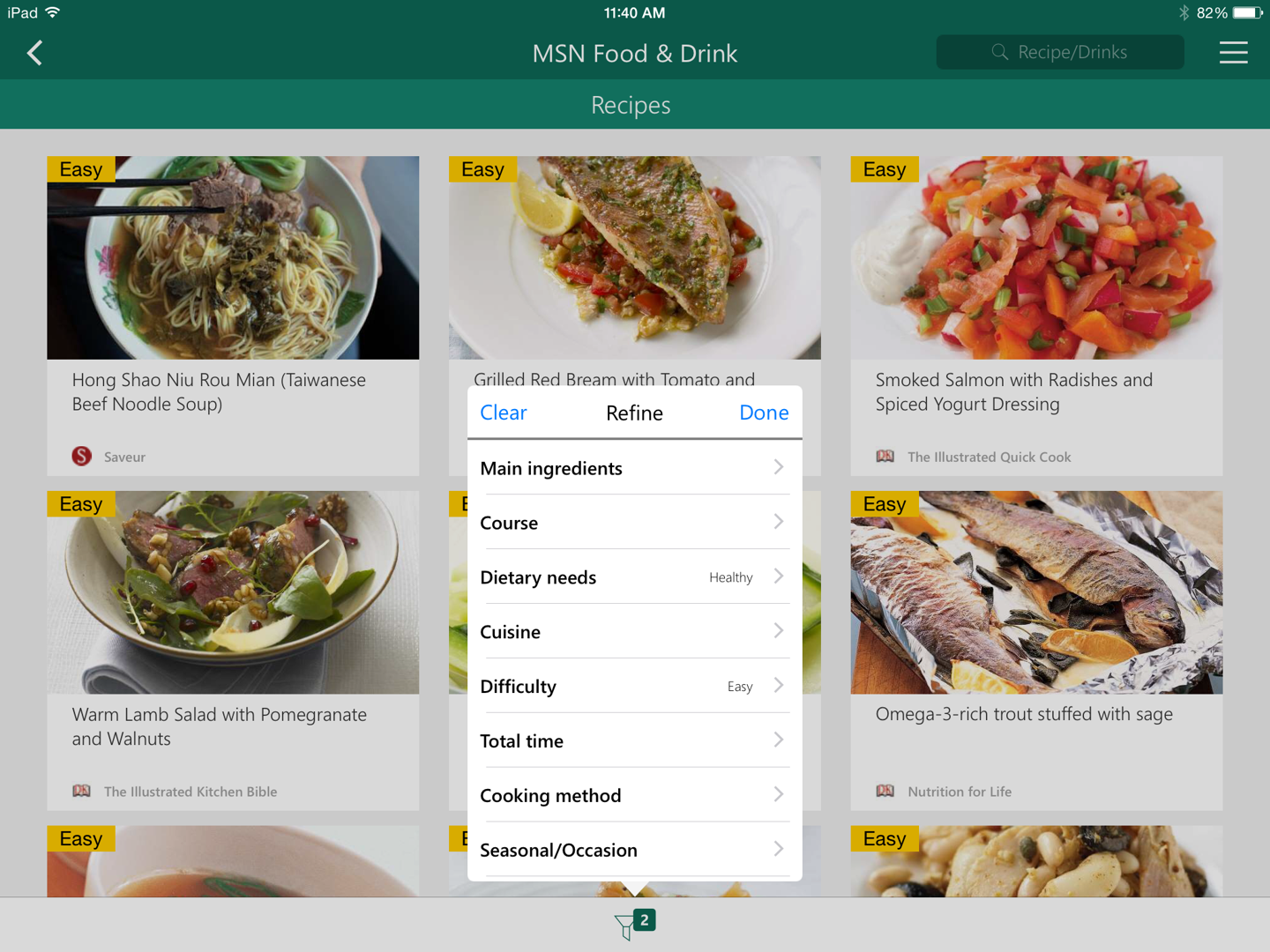 the msn food drink app now available on ios and android