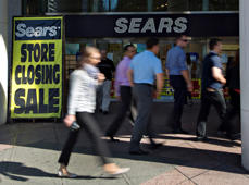 A closing Sears store in Vancouver, British Columbia, in 2012.