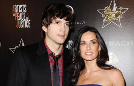 Ashton Kutcher fasted for a week in the woods after Demi Moore divorce