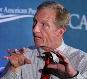 "<span style=""font-size:13px;"">Billionaire investor and Democratic backer Tom Steyer.</span>"