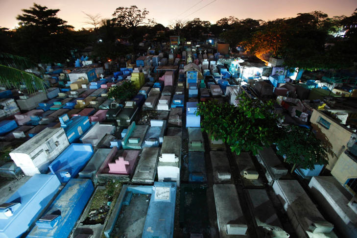 A general view of the Manila North Cemetery.