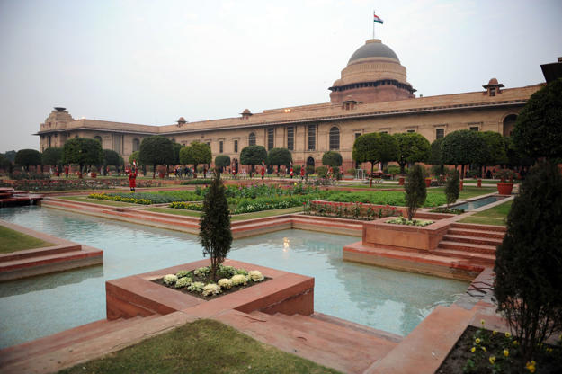 Slide 9 of 20: Rashtrapati Bhavan, India