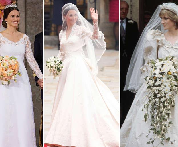 5594f556493 Royal wedding dresses through the years